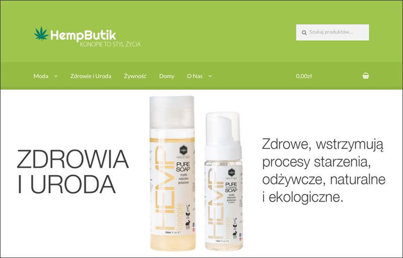 HempButik.pl - produkty z konopi